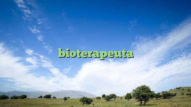 bioterapeuta